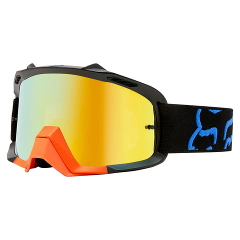 Fox Motocross Goggles 2018 FOX Air Space Preme MX Motocross Goggles - Black / Yellow
