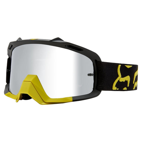 Fox Motocross Goggles 2018 FOX Air Space Preme MX Motocross Goggles - Dark Yellow