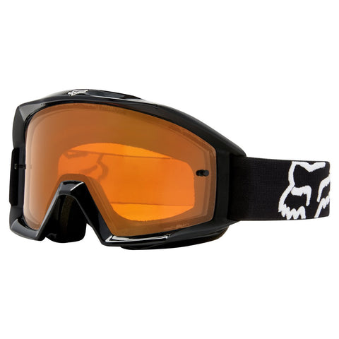 Fox Motocross Goggles 2018 FOX Main Enduro MX Motocross Goggles - Black