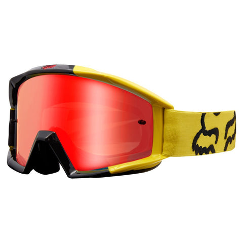 Fox Motocross Goggles 2018 FOX Main Mastar MX Motocross Goggles - Yellow