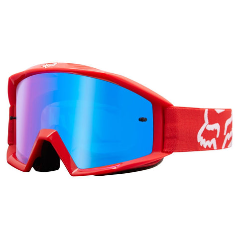Fox Motocross Goggles 2018 FOX Main Race MX Motocross Goggles - Red