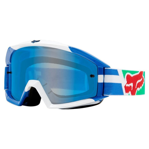 Fox Motocross Goggles 2018 FOX Main Sayak MX Motocross Goggles - Blue
