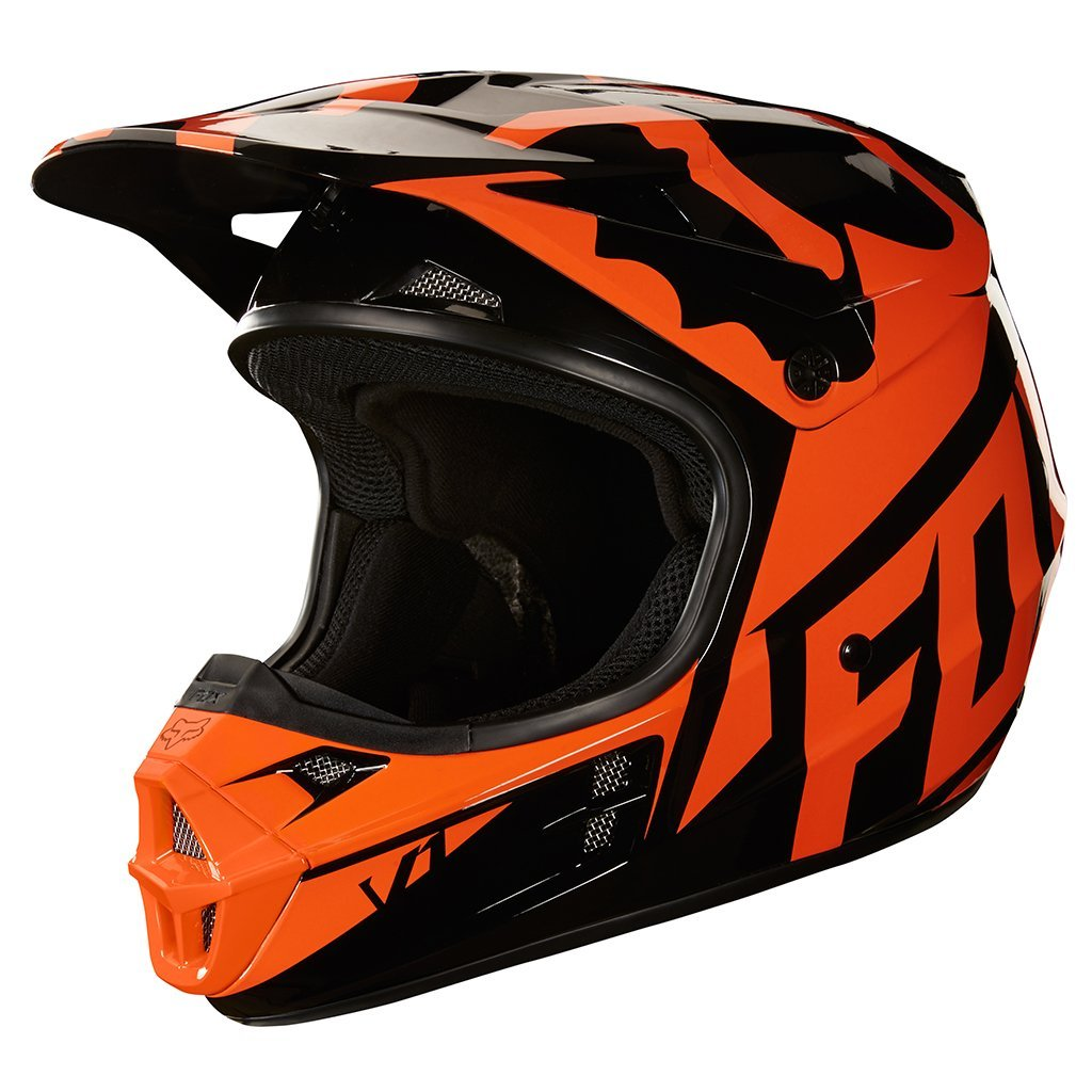 Fox Motocross Helmets S - 54-56cm 2018 FOX V1 Race MX Motocross Helmet -