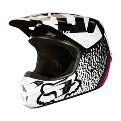 2018 FOX V1 Halyn MX Motocross Helmet - Black/Pink