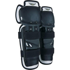 2019 FOX Titan Sport YOUTH MX Motocross Knee/Shin Guards - Black