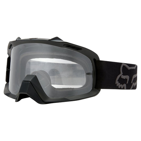 Fox Youth Motocross Goggles 2018 FOX Air Space YOUTH MX Motocross Goggles - Matte Black - Clear Lens