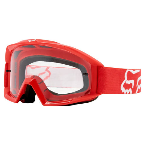 Fox Youth Motocross Goggles 2018 FOX Main YOUTH MX Motocross Goggles - Red