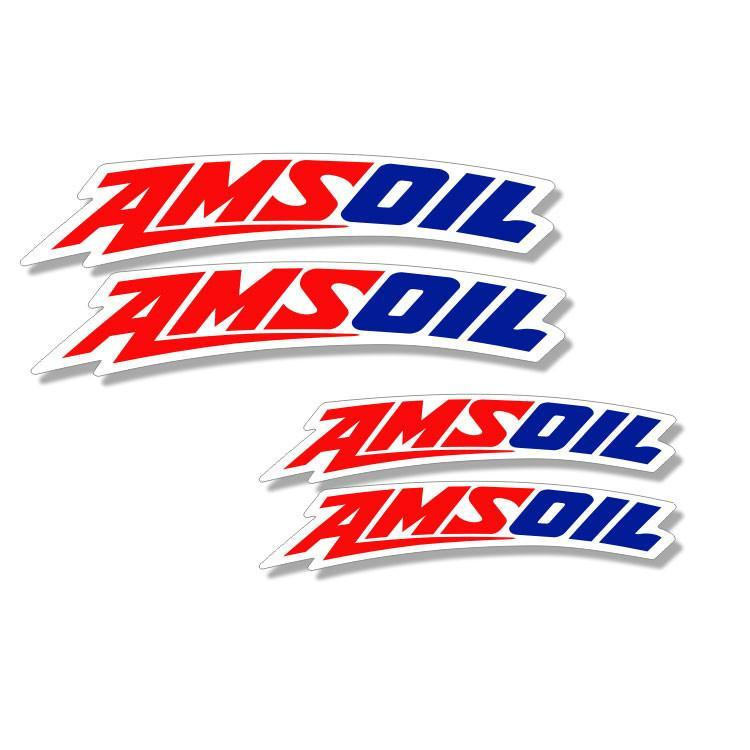 Front Fender Curved Decals Large - 125cc-450cc Zeronine Graphics Universal Curved Fender Decal - AmsOil