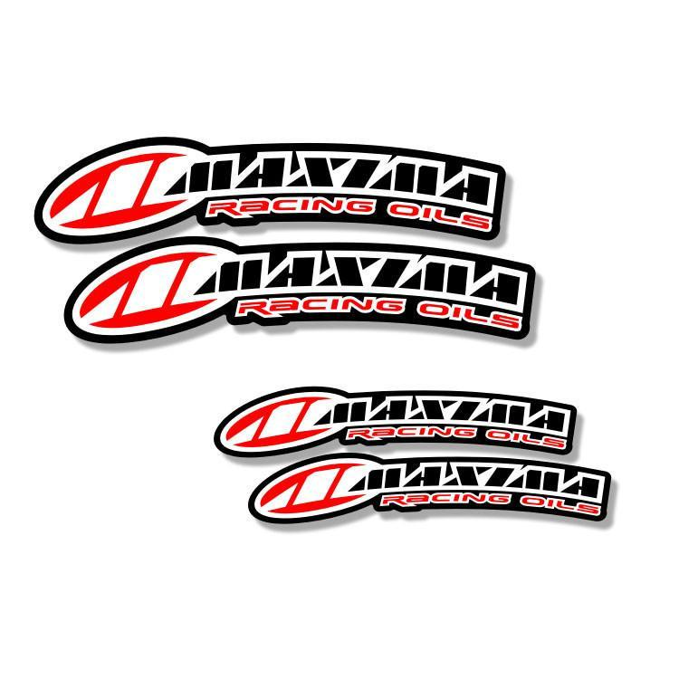 Front Fender Curved Decals Large - 125cc-450cc Zeronine Graphics Universal Curved Fender Decal - Maxima