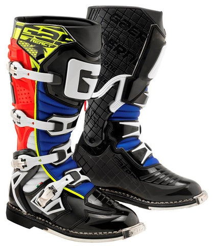 Gaerne Motocross Boots 2018 Gaerne G React Motocross Boots - Red Yellow