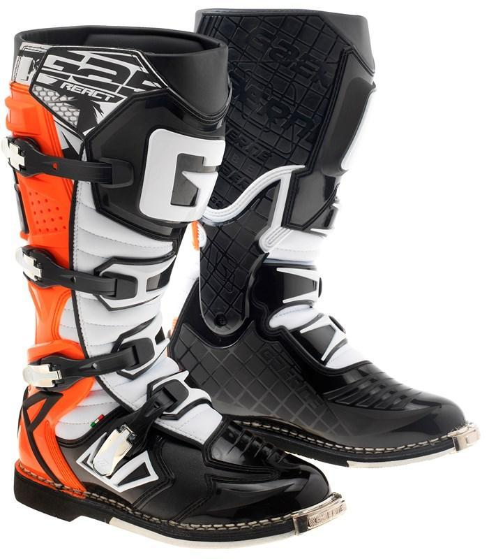 Gaerne Motocross Boots 7 (42) 2018 Gaerne G React Motocross Boots - Orange