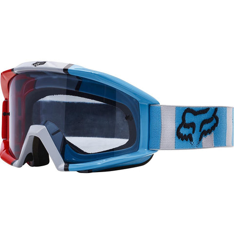 Goggles 2017 FOX Main Falcon MX Motocross Goggles - Grey / Red