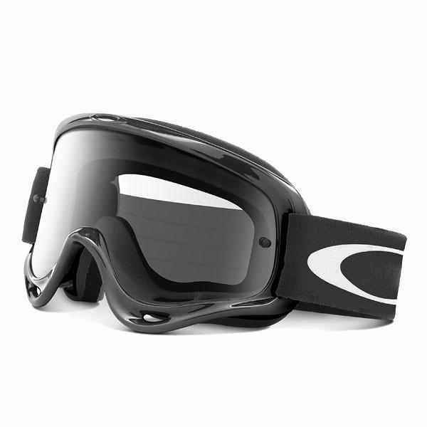 Goggles Oakley OFrame Motocross Goggles - Jet Black - Clear Lens