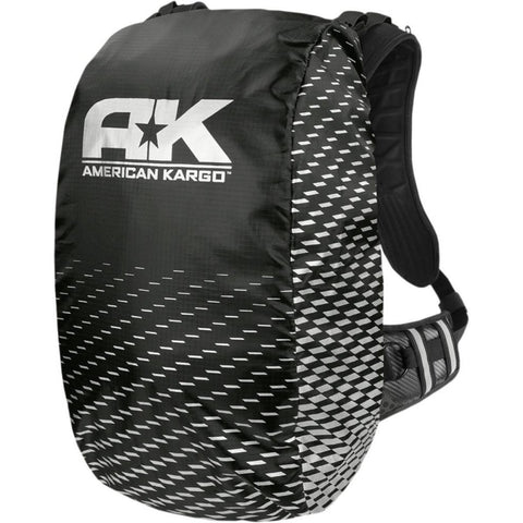 Hydration Packs American Kargo Raincover Backpack Trooper - Black
