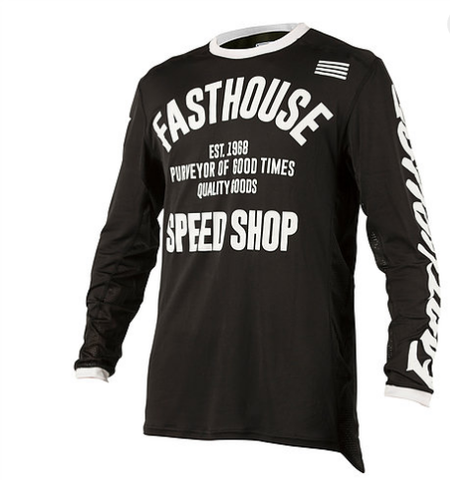 jersey Fasthouse Jersey - Classic L1 Black