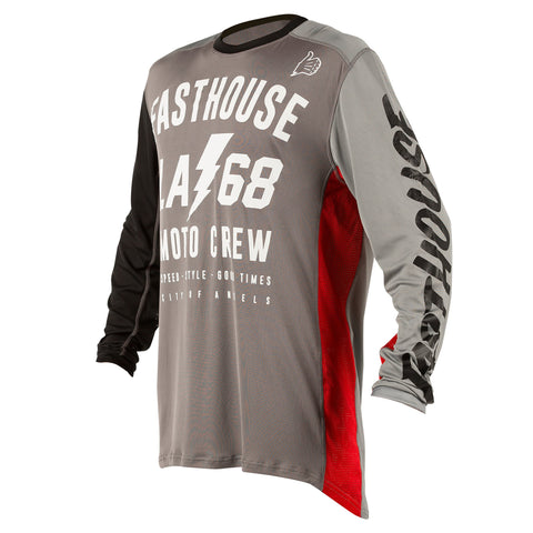 jersey Fasthouse LA68 L1 Air Cooled Adult Jersey Grey