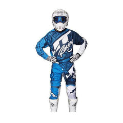 2017 JT Racing Flex Victory Kit Combo - Navy / Cyan 36