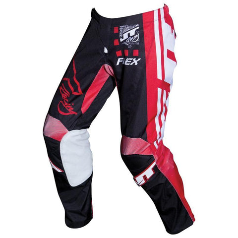 JT Racing Motocross Pants 2018 JT Racing Flex Exbox MX Motocross Pants - Black / Red