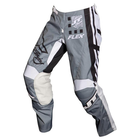 JT Racing Motocross Pants 2018 JT Racing Flex Exbox MX Motocross Pants - Grey / Black