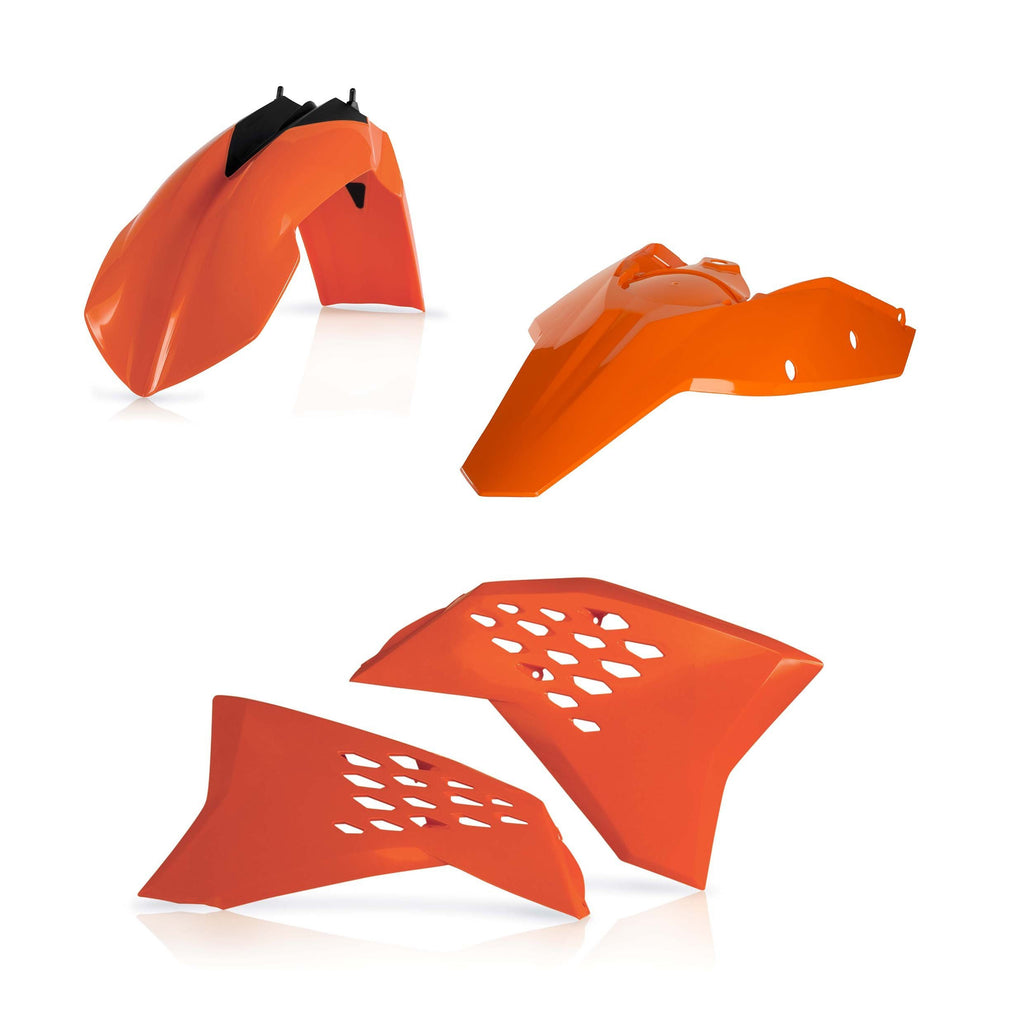 KTM Complete Plastics Kits Acerbis Basic Plastic Kit KTM EXC-F 400 08-11 - Orange