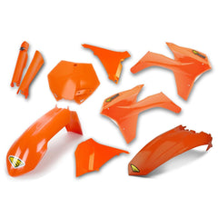 Cycra Power Flow Full Plastics Kit KTM SX/SXF/EXC/EXC-F 125-450 2007-2018 - Orange