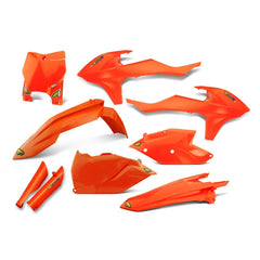 Cycra Power Flow Full Plastics Kit KTM SX/SXF 125-450 2016-2018 - Flo Orange