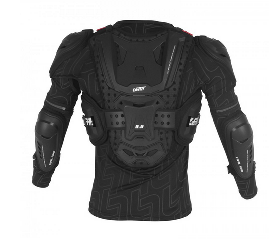 Leatt Motocross Body Protection 2018 Leatt Body Protector 5.5 Junior - Black
