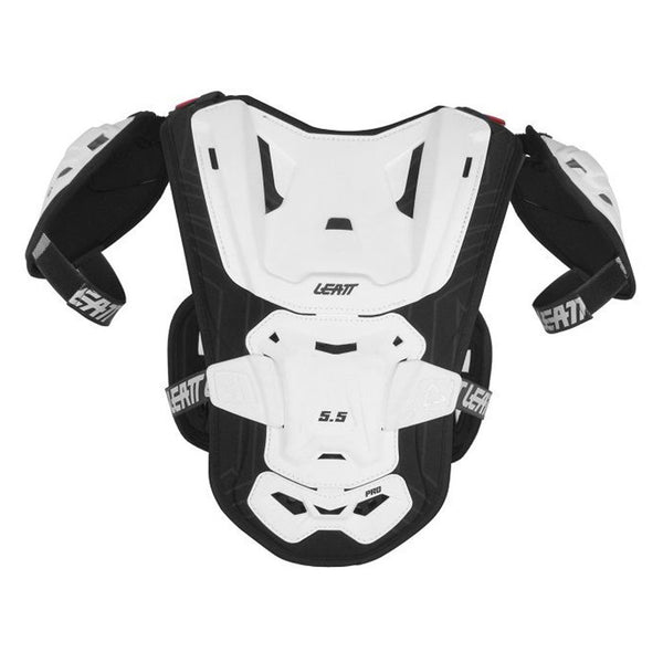 Leatt Motocross Body Protection 2018 Leatt Junior Chest Protector 5.5 Pro - White