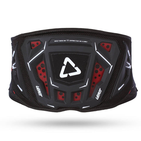 "Leatt Motocross Body Protection 28"" - 34"" Waist Leatt Kidney Belt - Black"