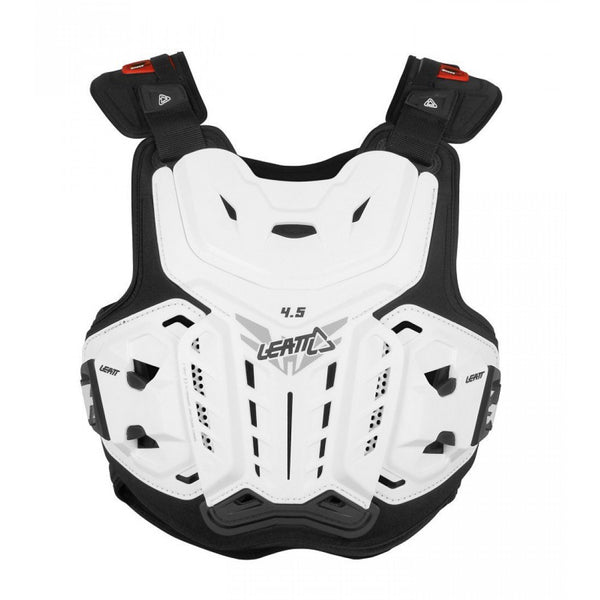 Leatt Motocross Body Protection Adult - 150-198 Lbs (70-90 kg) 2018 Leatt Chest Protector 4.5 - White