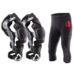 2018 Leatt C Frame PRO Carbon Knee Braces & Leatt Knee Brace Pants