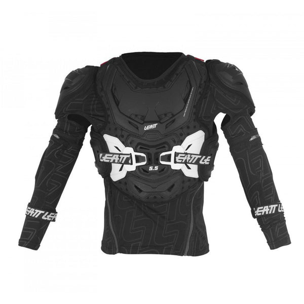Leatt Motocross Body Protection S/M 2018 Leatt Body Protector 5.5 Junior - Black