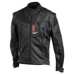 2018 Leatt GPX 4.5 Lite Jacket - Black / Grey