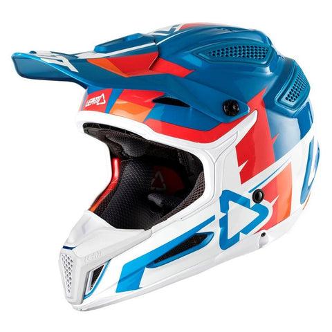 Leatt Motocross Helmets 2018 Leatt GPX 5.5 V10 Helmet - Blue / White