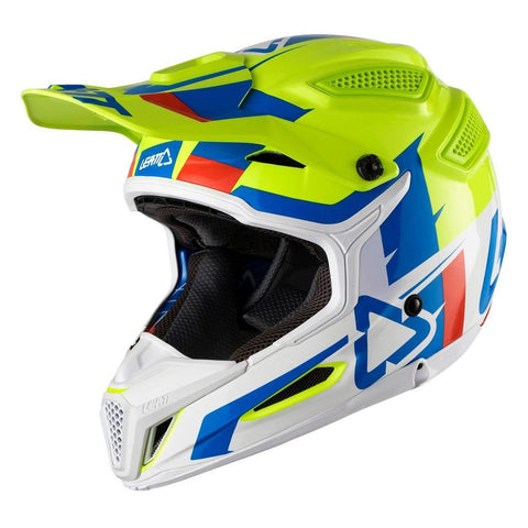 Leatt Motocross Helmets 2018 Leatt GPX 5.5 V10 Helmet - Lime / White
