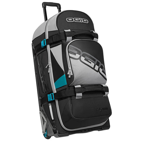 Luggage & Gear Bags 2018 Ogio Rig 9800 Wheeled Motocross Gear Bag LE - Teal Block