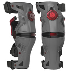 Mobius X8 Knee Brace - Grey/Crimson Red