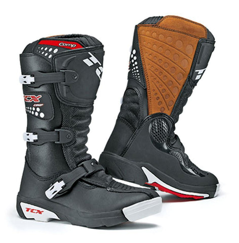 Motocross Boots 29 TCX Comp Youth Motocross Boots - Black