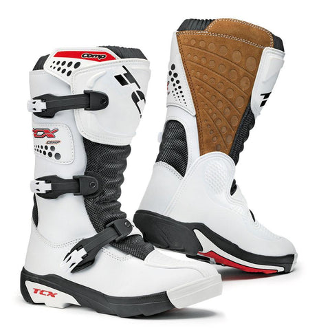 Motocross Boots 29 TCX Comp Youth Motocross Boots - White