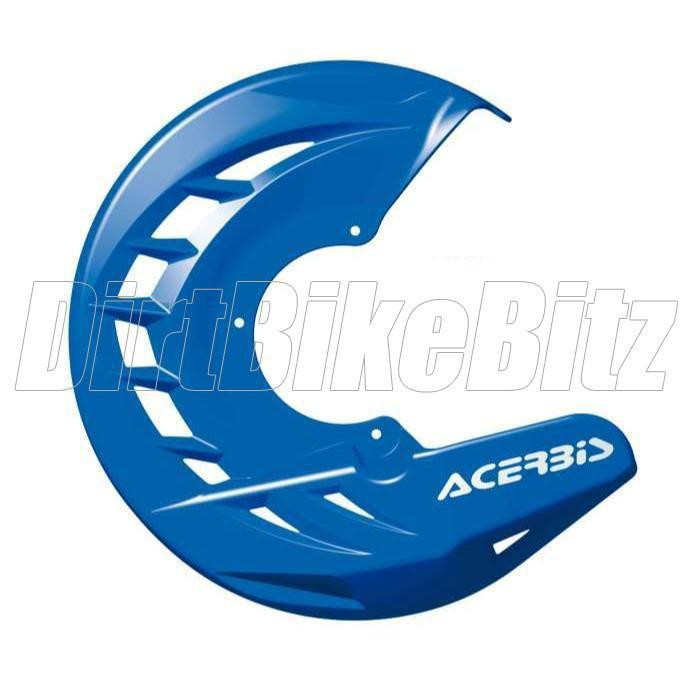 Motocross Brake Disc Guards Acerbis X Brake Front Disk Protector - Blue