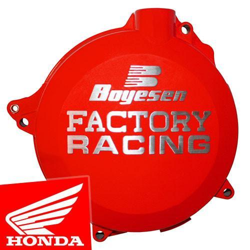 Motocross Clutch & Ignition Covers HONDA CRF50/70 ALL Boyesen Honda Ignition Cover - Red