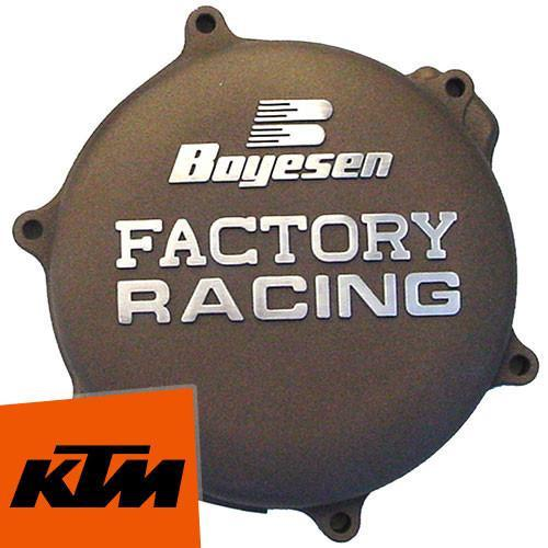 Motocross Clutch & Ignition Covers KTM SX125 2T 0-14 Boyesen KTM Clutch Cover - Magnesium