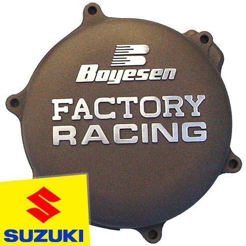 Motocross Clutch & Ignition Covers SUZUKI RM125 98-08 Boyesen Suzuki Clutch Cover - Magnesium