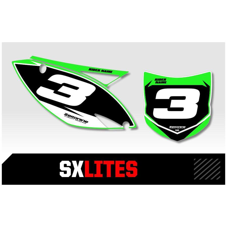 Motocross Custom Backgrounds Kawasaki SX Lites Series Backgrounds