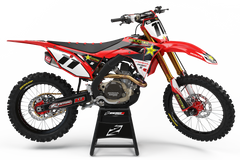 2018 Honda Rockstar Race Team Graphics Kit