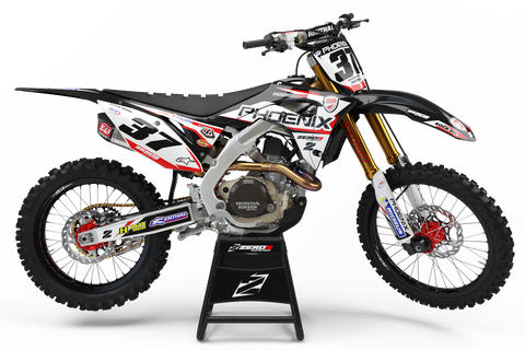 Motocross Custom Graphics CRF250R 14-17 Pheonix Tools Honda 2017 Team Race Graphics Kit - Honda
