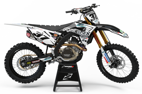 Motocross Custom Graphics CRF250R 14-17 Pheonix Tools Honda 2018 Team Race Graphics Kit - Honda