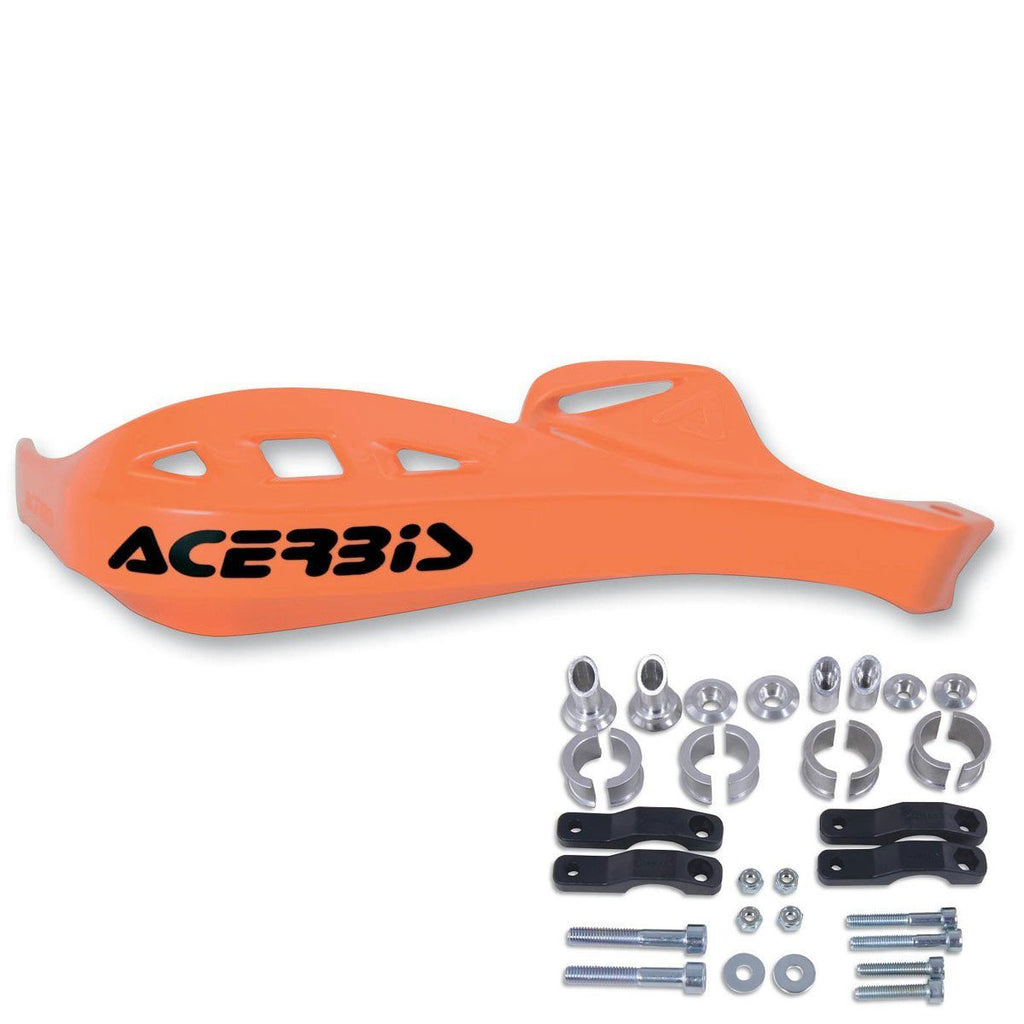 Motocross & Enduro Handguards Acerbis Rally Profile Handguards - Orange - Inc Universal Mount Kit
