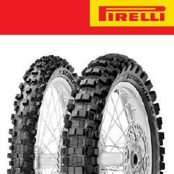 Motocross & Enduro Tyres R Pirelli Scorpion MX Hard 454 19R - 110/90
