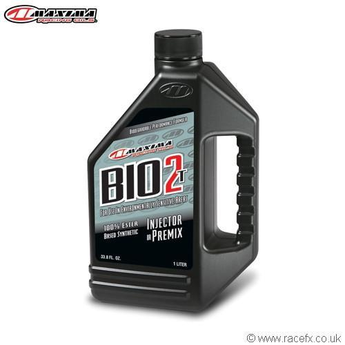 Motocross Engine Oils Maxima 2T Bio 2T 100% Ester Synthetic (SAE 20w) 1 Litre